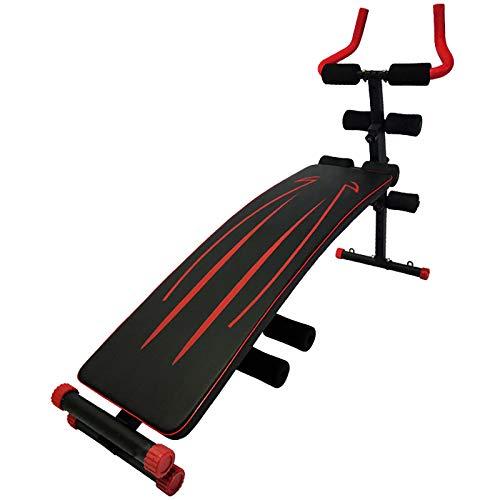 Levantamiento de Pesas Banco Ajustable Máquina Hermosa de la Cintura Fitness Dumbbell Bench Supine Board Home Fitness Equipment Uso de Mancuernas (Color : Black 1, Size : 149X95x30cm)