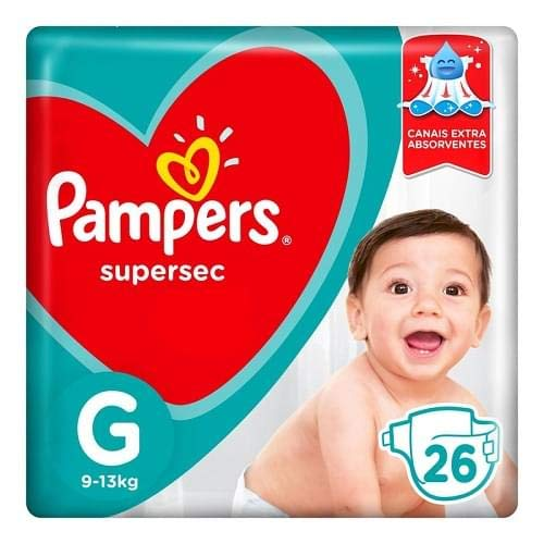 Fd Pampers S. Sec Pctao G, PAMPERS SUPERSEC
