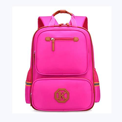 Children's School Bag Unisex Classic Lightweight Water Resistant College Rucksack (Color : B)