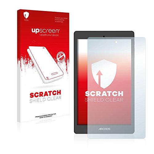upscreen Schutzfolie kompatibel mit Archos Oxygen 80 – Kristallklar, Kratzschutz, Anti-Fingerprint