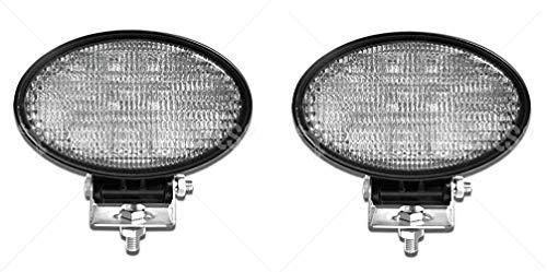 2x Hängend/Stehend 140mm Arbeitslicht 24W IP67 LED Weiß Fluchtlicht Arbeitsscheinwerfer ATV UTV LKW PKW Anhänger Traktor Bager Gabelstapler Grabenbager Wohnwagen Quad Träger