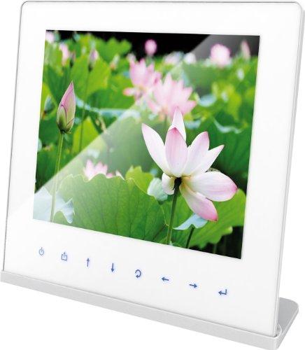 Rollei Designline 3106 WIFI Bilderrahmen  (26, 4 cm (10, 4 Zoll ) Farb-TFT-LCD, inkl. Fernbedienung, 4:3 Seitenverhältnis, 128 MB interner Speicher) weiss