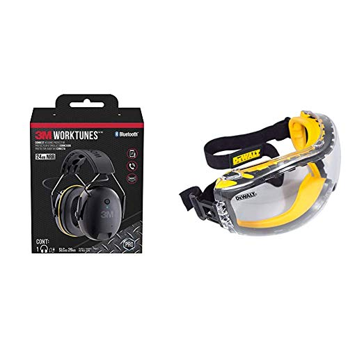 3M WorkTunes Connect Hearing Protector with Bluetooth Technology, 24 dB NRR  Nevada