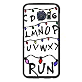 S6 Edge Case Run Stranger Things - Case for Galaxy S6 Edge - Protector Cover for Samsung S6 Edge
