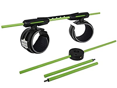 SWINGALIGN New and Improved Swing Align Golf Swing Training Aid develops a More Consistent Golf Swing and Putting Stroke by improving Alignment, Rotation, Connection and Swing Plane.