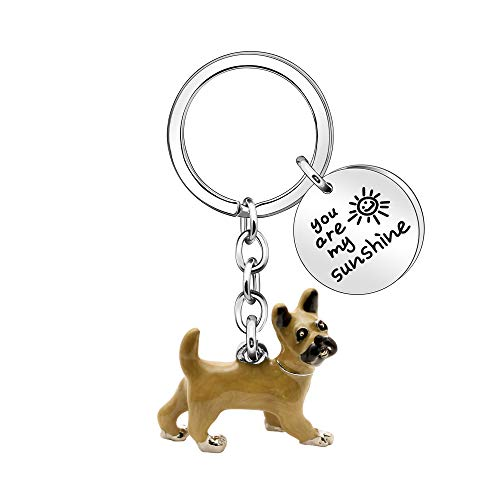 Huisdier liefhebber Sleutelhanger Cadeau, Een verscheidenheid aan stijlen Mooie Honden Puppy Sleutelhanger Sleutelhanger Ring voor Vrouwen Mannen Verjaardag Kerstcadeau