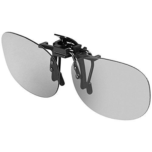 Goobay 3D-Zirkular-Aufsteckbrille 3D Zirkular-Polfilter