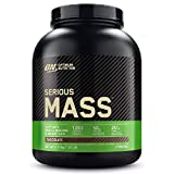 Optimum Nutrition Serious Mass Protein Powder High Calorie Mass Gainer with Vitamins, Creatine
