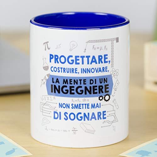 La Mente è Meravigliosa - Tazza con Frase e Disegno...