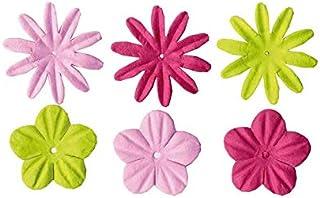Artemio 51 Perles et 24 Fleurs en Papier Girl