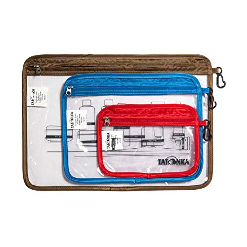 Tatonka Zip Flight Bag Set L Transparent