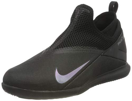 Nike Phantom VSN 2 Academy DF IC, Botas de fútbol Unisex niños, Negro 010, 32 EU