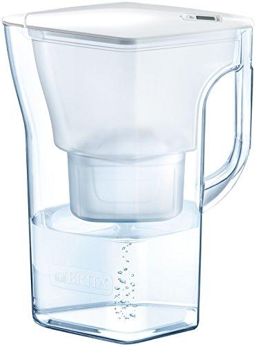 ブリタ 浄水器 ポット 浄水部容量:1.3L(全容量:2.3L) ナヴェリア ホワイトメモ マクストラプラス カートリッジ 1個付き 【日本仕様・日本正規品】