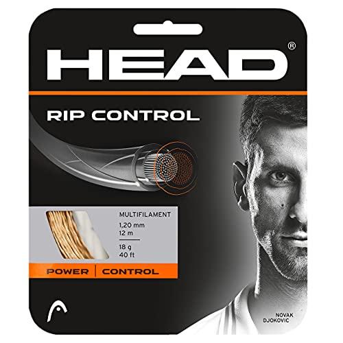 Head Rip Control Cordajes de Raquetas de Tenis, Adultos Unisex, Natural, 16