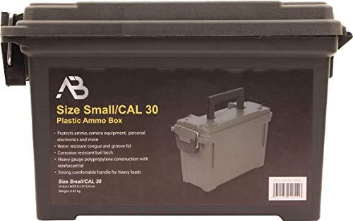 AB Robuste Munitions- und Werkzeugkiste aus Kunststoff (Oliv/Kaliber 30) - 3