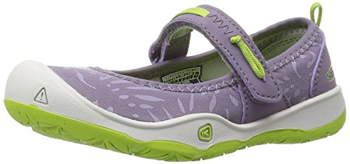KEEN Baby Moxie Mary Jane Flat, Purple Sage/Greenery, 8 Toddler US Toddler