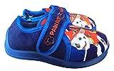 Zapatillas de casa Azules, compatibles con Patrulla Canina, Color Azul, Talla 29 EU