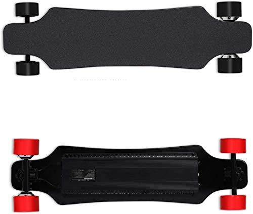 NOBRAND Elektrische Cruiser Skateboard met Afstandsbediening, 25 MPH Top Speed, 34 mijl Max Range, 350W*4X Motor Hub, 9 Lagen Esdoorn Board en Geniet van uw rit Longboards
