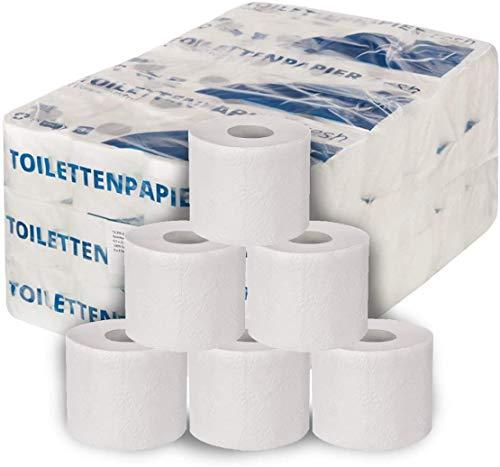 FETEX | Toilettenpapier [72 Rollen/Großpackung] 250 Blatt je Rolle | besonders weich und soft | Klopapier aus Zellstoff | Original FETEX