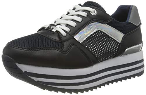 TOM TAILOR Damen 1191401 Sneaker, Navy, 38 EU