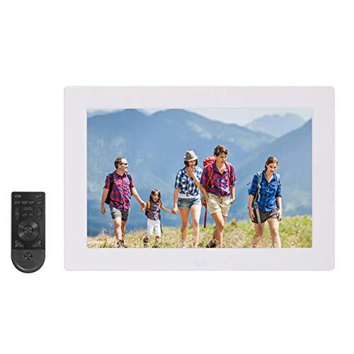 LRZ 10,1 Inch Smart Photo Frame - Digitale WiFi-fotolijst met 1920x1080 HD-scherm, bewegingssensor en online opslag, weergave en delen van foto's Mobiele app