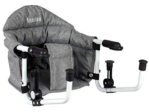 Looping Tischsitz, Grau meliert, Einheitsgröße