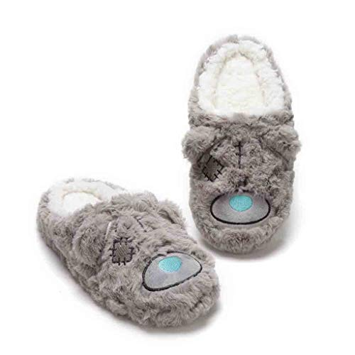 Holeider Hausschuhe Damen Pantoffeln Drinnen Winter Aus High Density Memory-Baumwolle Wärme Bequem Home rutschfeste Süße Haus Slippers Fleece-Futter,
