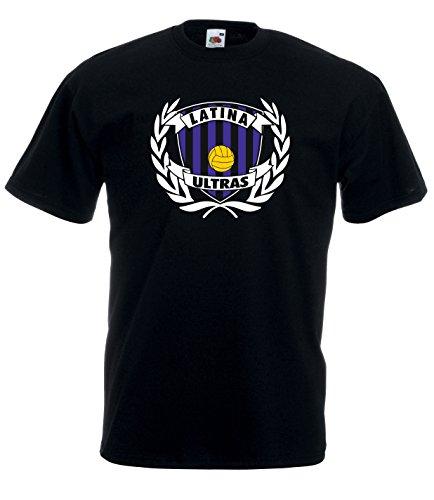 Settantallora - T-Shirt Maglietta J1778 Stemma Latina Ultras Taglia XL