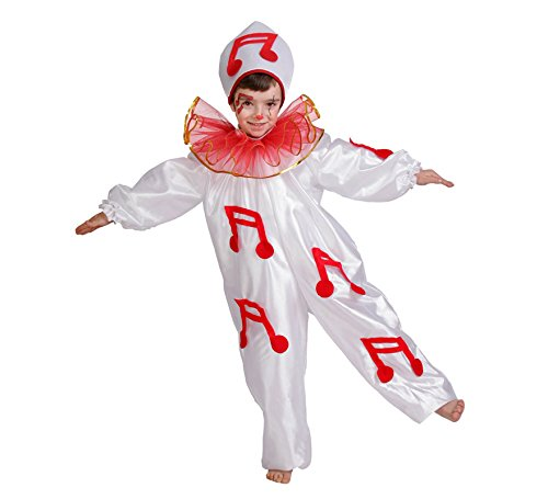 Nines d'Onil Disfraz de Pierrot para nio