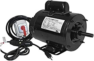 Elite 1 HP Heavy Duty 56 Frame Boat Lift Motor - Momentary Switch / 110v / 16 ft. Control Cable