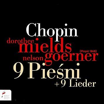 Chopin: 9 pieśni + 9 lieder