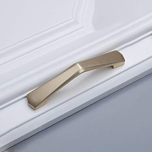 Tirador Moderno Espesamiento S/ólido Tirador para Mueble Alargar Tirador de Armario Negro Tirador para Caj/ón Tirador de Puerta