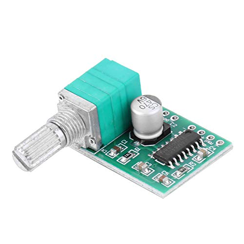Dreamitpossible Mini PAM8403 5 V Power Audio Verstärker Board Modul 2 Kanäle 3 W x 2 w Schalter Potentiometer USB Power