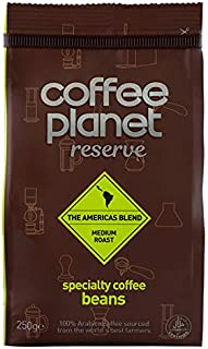 Coffee Planet Reserve Americas Blend Specialty Coffee Beans - 250 gm
