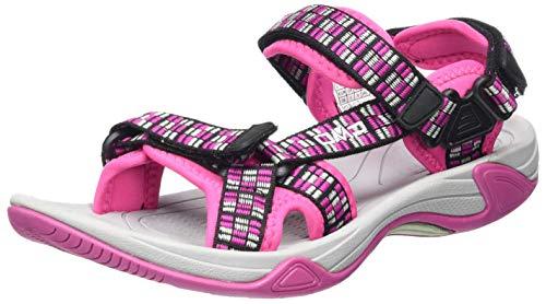 CMP – F.lli Campagnolo Unisex-Kinder Kids Hamal Hiking Sandal Trekking- & Wandersandalen, Pink (HOT PINK B375), 38 EU