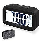 Arespark Despertador Digital, LED Reloj Alarma...