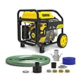 Champion Power Equipment 100742 2-Inch Gas-Powered Semi-Trash Water Transfer Pump with Hose and Wheel Kit