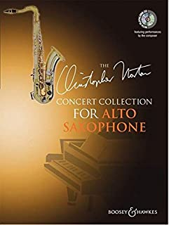The Christopher Norton Concerto Collection for Alto Saxophone with a CD of performances and backing tracks
