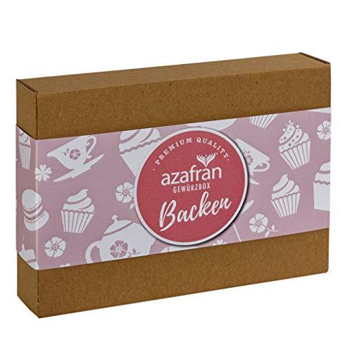 Azafran Gewürze Set Backen - Gewürzbox zum Backen
