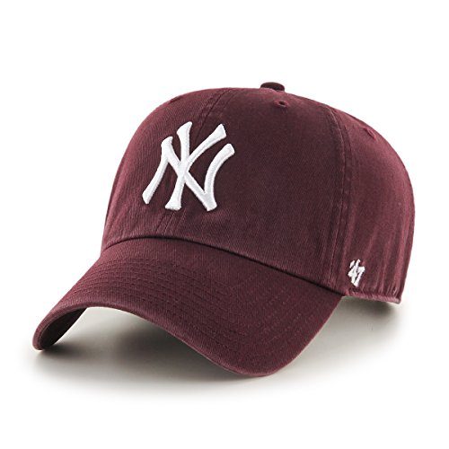 '47 Brand MLB New York Yankees Clean Up Cap - Maroon