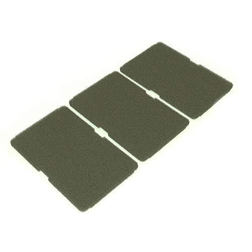 3x Filter für Beko Trockner Wäschetrockner 2964840100 Sockelfilter 240x155mm