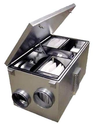 Air Filters 50S / 75S / 90S /100S - SEC Filtersett Till Östberg Luftfilter - 195x365x240mm