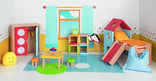 Goki- Muebles para Marionetas Flexibles, habitación Infantil, Color Mixto (51540)
