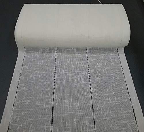 mauro Tende a Vetro-Pannello Vendita a Metro-Tessuto con Lavorazione Ajour Larghezza da Cm 35 a 90 (cm 50)