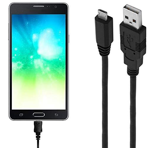 ASSMANN Ladekabel/Datenkabel kompatibel für Samsung Galaxy On5 Pro - schwarz - 1m
