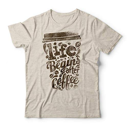 Camiseta Begins After Coffee