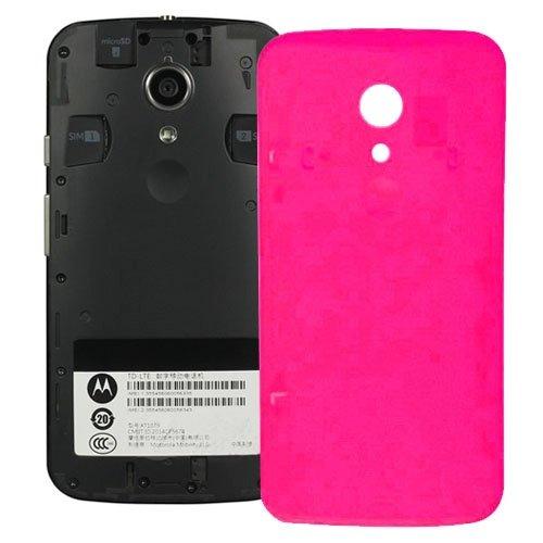 TTDY Reemplazo Profesional de la batería de la contraportada for Motorola Moto G (2ª generación) XT1063 / XT1068 / XT1069 (Negro) Zubehör (Color : Magenta)