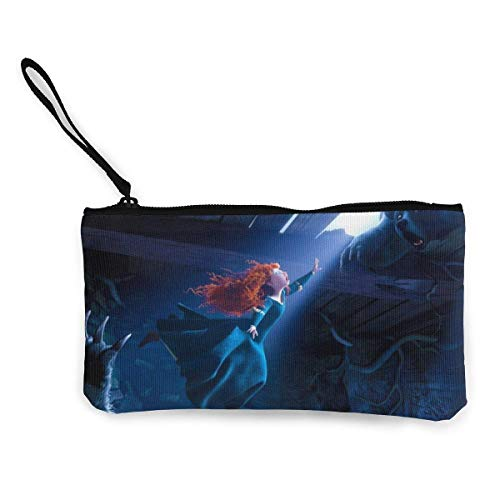 Price comparison product image Hdadwy Brave Merida Womens Mens Coin Purse Phone Pouch Cosmetic Bag