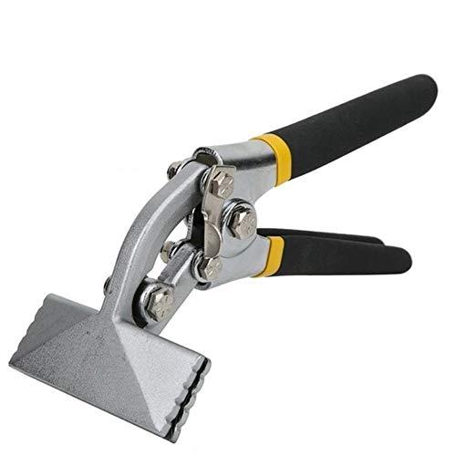 DWhui Blech Werkzeuge Metallhand Seamer händischen Blatt-Clamp Rutschfester Griff Falzzange Multifunktionale quetschverbindenzangen, Biegewerkzeuge, Zangen (Farbe : Curved)
