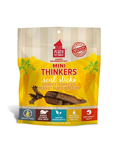 Plato Mini Thinkers Carrot, Turkey & Peanut Butter Recipe 3oz